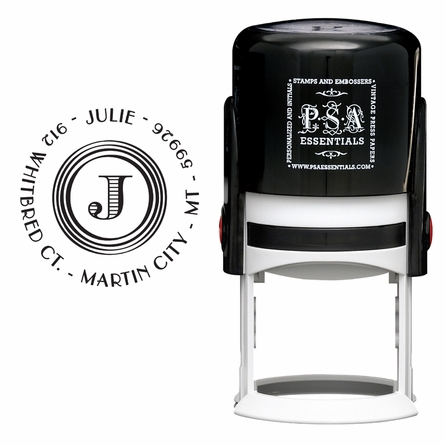 Julie Personalized Self-Inking Stamp