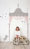 Juliette Headboard Peel & Stick Wall Decals