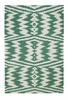Junction Rug in Dark Green