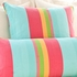 June Stripe Square Pillow