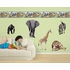 Jungle Animals Pre-Pasted Wallpaper Border