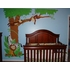 Jungle Hula Party Paint by Number Wall Mural