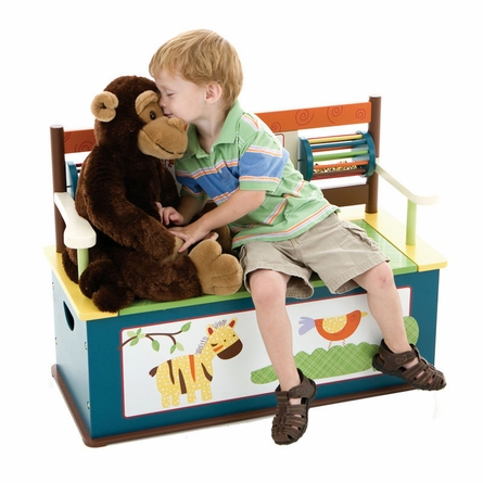Jungle Jingle Bench Seat with Storage