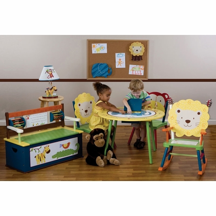 Jungle Jingle Table with 2 Chair Set