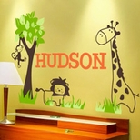 Jungle Wall Decals and Murals