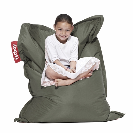 Junior Beanbag In Olive Green