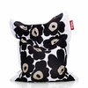 Junior Marimekko Unikko Beanbag In Black