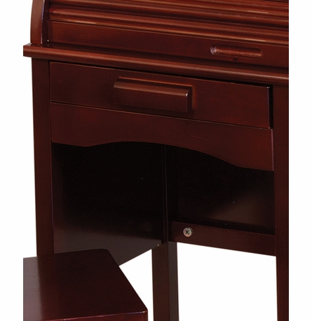 Junior Roll-Top Desk - Espresso