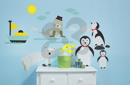 Just Chillin Peel & Place Wall Stickers