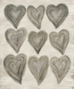 Just Hearts Canvas Wall Art