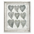Just Hearts Framed Canvas Wall Art