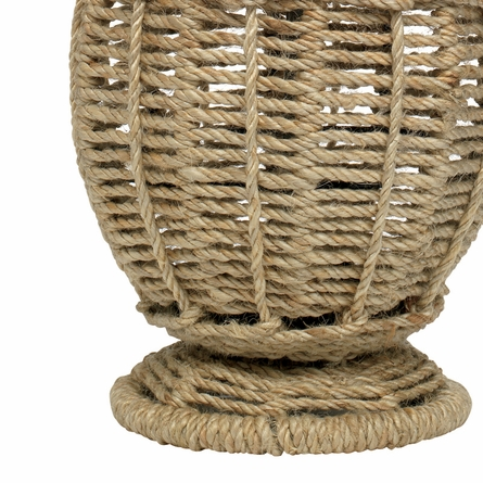 Jute Small Urn Table Lamp