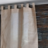 Jute Tab Top Curtain Panel