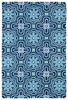 Kaleidoscope Matira Rug in Blue