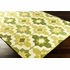 Kaleidoscope Storm Rug in Lime