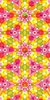 Kaleidoscope - Yellow Sunburst Canvas Wall Art