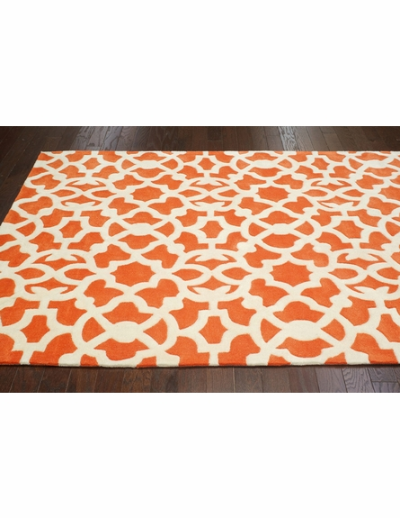 Kamran Rug in Orange