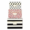 Kate Spade Black Stripe Nesting Boxes