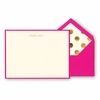 Kate Spade Tickled Pink Correspondence Cards