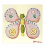 Katharine the Butterfly Canvas Reproduction