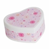 Katie Flowers Heart Jewelry Box