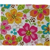 Kaui Blooms Fleece Throw Blanket