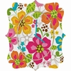 Kaui Blooms Quatrefoil Wall Clock