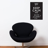 Keep Calm and... Chalkboard Wall Decal
