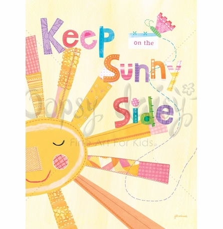 Keep on the Sunny Side Canvas Wall Art