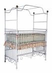 Kelly Iron Canopy Crib
