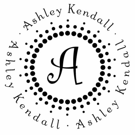 Kendall Personalized Self-Inking Stamp
