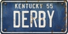 Kentucky Custom License Plate Art