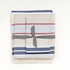On Sale Khaki Preppy Stripe Twin Sheet Set