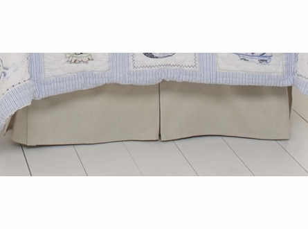 Khaki Twin Bed Skirt