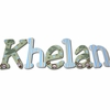 Khelan Monkeys Hand Painted Wall Letters