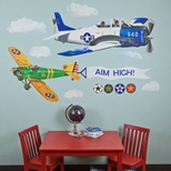 Kids Airplane Decor