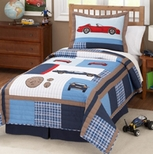 Kids Car Bedding
