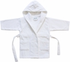 Kids Velour Terry Cover-Up in White