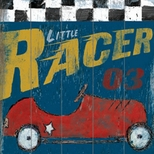 Kids Vintage Car Decor