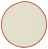 Kidstime Round Rug in Beige Sweet Potato