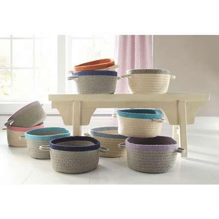 Kidstime Storage Basket in Ash Lavender