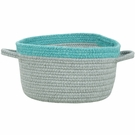 Kidstime Storage Basket in Ash Ocean Blue