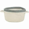 Kidstime Storage Basket in Beige Smoke