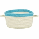 Kidstime Storage Basket in Beige Topaz Blue