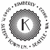 Kimberly Personalized Self-Inking Stamp