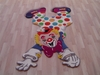Kinderloom JoJo the Clown Rug