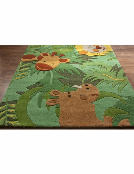 Kinderloom King of the Jungle Rug