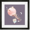 Kites & Kittens Framed Art Print