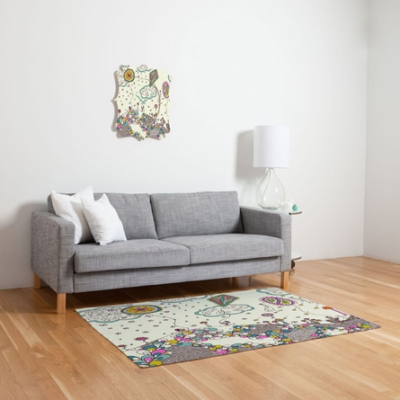Kites to the Sky Flat Weave Rug