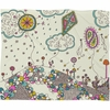 Kites to the Sky Fleece Throw Blanket